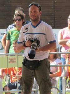 Fotografo al Campionato di Pattinaggio 2014 Di Grazia