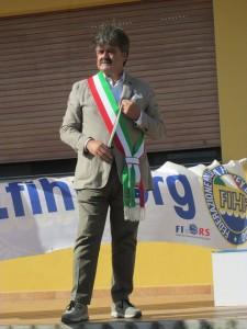 Il Sindaco premia al Campionato di Pattinaggio 2014 Marchetti Maurizio