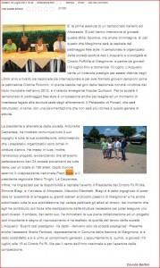 LUCCA IN DIRETTA CAMPIONATO ITALIANO PATTINAGGIO
