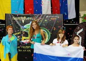 Podio Classic Style EFSC 2014 Kunetzova