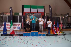 Podio Speed Juniores Maschile EFSC 2014