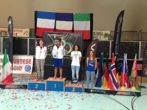 Podio Speed Senior Femminile EFSC 2014