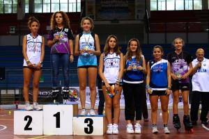 Coppa Italia Novara 2014 - Podio Battle Femminile - Ragazzi - Gaia Mancini