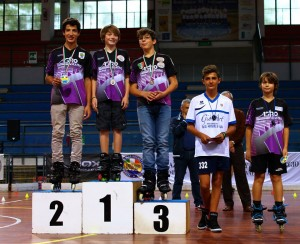 Coppa Italia Novara 2014 - Podio Battle Maschile - Allievi - 4° Diego Franco