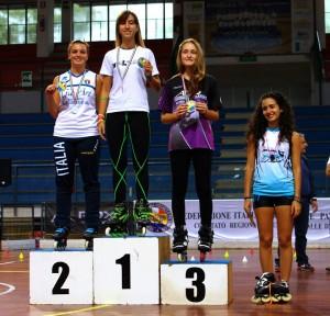 Coppa Italia Novara 2014 - Podio Battle Senior Femminile  - Rotunno