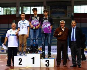 Coppa Italia Novara 2014 - Podio Battle Senior Maschi - 2° Sansoni Filippo