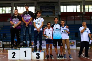 Coppa Italia Novara 2014 - Podio Speed Juniores Maschile