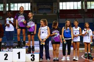 Coppa Italia Novara 2014 - Podio Speed Ragazzi Femminile - 2° Berti Gaia