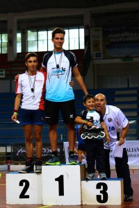 Coppa Italia Novara 2014 - Podio Speed Seniores Maschile