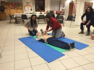 Defibrillatore Chiara Castagni Acquario al Corso