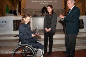 Premio Centenario del Coni Sara Morganti 15 dicembre 2014