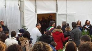 Inaugurazione Tensostruttura 2014 Marginone - Acquario Sindaco Marchetti 2