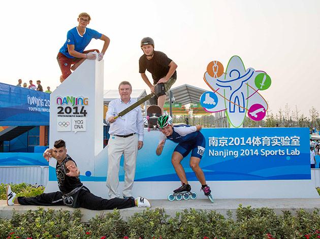 Sportlab a Nanjin 2014
