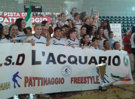 UISP – CAMPIONATO ITALIANO PATTINAGGIO FREESTYLE 2015 AVERSA- I RISULTATI FANTASTICI DELL'ACQUARIO!