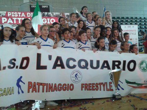 UISP CAMPIONATO ITALIANO FREESTYLE 2015 L'ACQUARIO E' LA SOCIETÀ CAMPIONE D'ITALIA