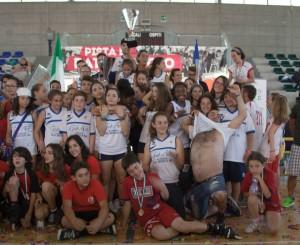 CAMPIONATO ITALIANO UISP 2015 AVERSA - ACQUARIO SOCIETA' CAMPIONE ITALIANO CARPANESE