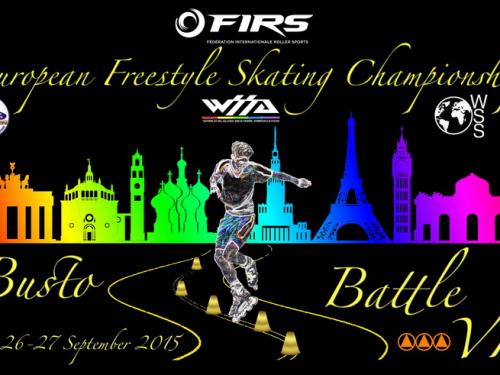 WSSA  – 25-26-27 SETTEMBRE 2015 – CAMPIONATO EUROPEO 2015 DI PATTINAGGIO FREESTYLE A BUSTO ARSIZIO