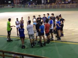 La squadra italiana e Pastormerlo Andrea CT Anazionale Freestyle