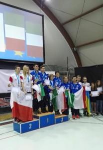 EFSC 2015 - Quiriconi Rotunno Campioni Europei pattinaggio