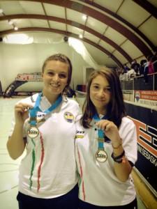 European Speed Champions - junior e senior - Sveva Romano e Cristina Rotunno