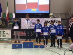 Risultati speed categoria junior Men
