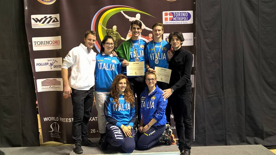 Torino 2015 Campionato WFSC 2015 Freestyle Quiriconi-De Sensi-Rotunno-Laffarge-Morbidoni-Rotunno