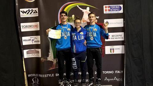WFSC CAMPIONATO DEL MONDO DI PATTINAGGIO FREESTYLE L'ITALIA CONQUISTA L'ARGENTO!