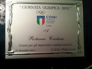 Giornata Olimpica CONI 2015 Rotunno Cristina