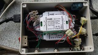 Alimentatore per fotocellule nella Scatola del Cronometro - Led Driver