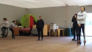 Pattinaggio freestyle L'Acquario D'Ingeo con Carpanese e Rotunno FM