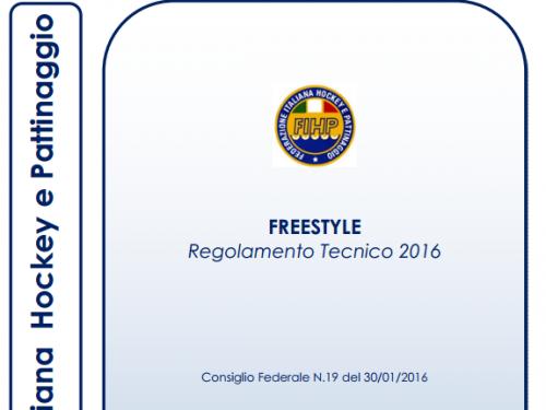 TUTTE LE NOVITÀ DEL REGOLAMENTO FIHP DI PATTINAGGIO FREESTYLE 2016