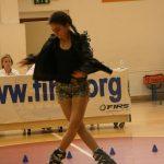 Campiglia 2016 pattinaggio freestyle Vezzani Jasmin