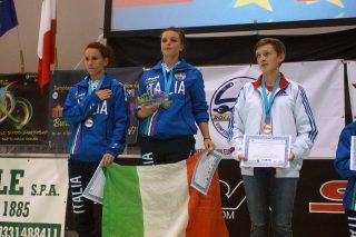 Cristina Rotunno Campionessa Europea 2015