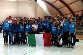 Nazionale Italiana Pattinaggio freestyle 2015 3