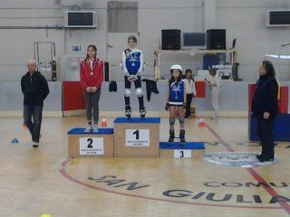 Pattinaggio Freestyle Vezzani Jasmine Bernicchi Emi Bronzo Roller Cross