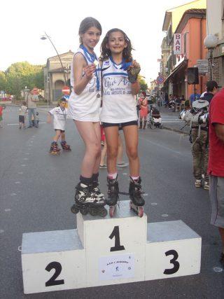 Pattinaggio Freestyle Vezzani Jasmine Bernicchi Emi Oro Style di Coppia Regionale
