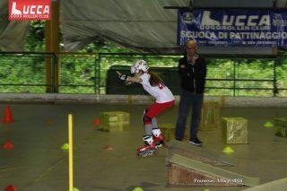 Lucca Rollercross fase della gara pattinaggio 1