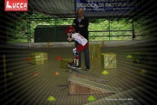 Lucca Rollercross fase della gara pattinaggio 2