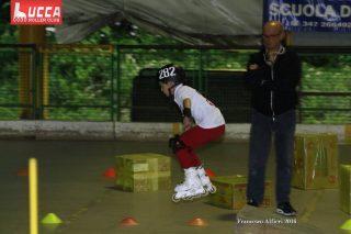 Lucca Rollercross fase della gara pattinaggio 3