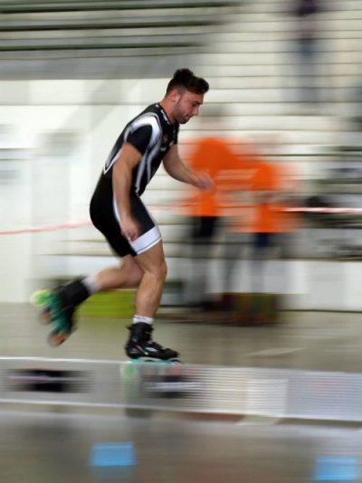 Roberto Rosato Campione di Pattinaggio Freestyle