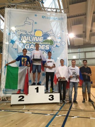 Inline_Berlin2016 Podium Freestyle Classic Senior Men