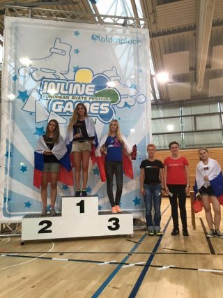 Inline_Berlin2016 Podium Freestyle Classic Senior Women