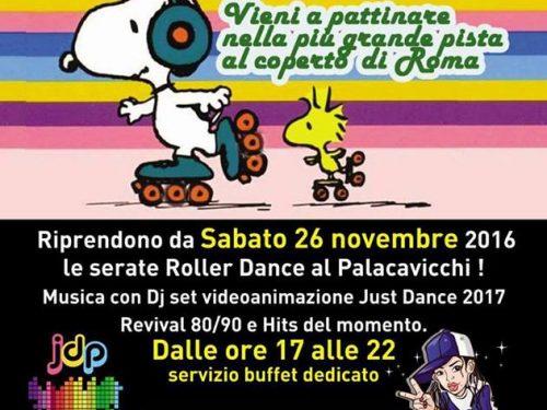 PATTINAGGIO DISCOTECA A ROMA DAL 26 NOVEMBRE INIZIA IL ROLLER DANCE