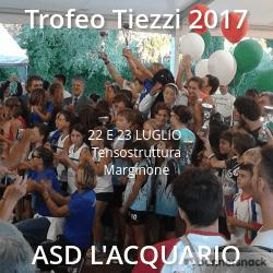TROFEO TIEZZI 2017 ASSEGNATO ALL'ACQUARIO PATTINAGGIO NEI GIORNI DEL 22 E 23 LUGLIO 2017